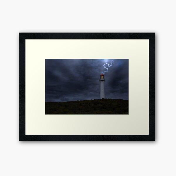 The Power Framed Art Print