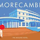Morecambe, Midland Hotel by Stephen Millership