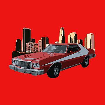 70's Starsky & Hutch Tribute by DiesIraeKaa