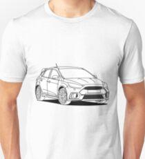 Sporty Hatchback Unisex T-Shirt