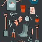 Gardening at Night by Nic Squirrell