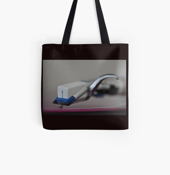 Vinyl rules!  All Over Print Tote Bag