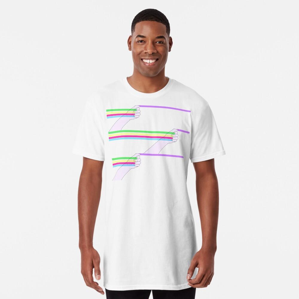 Patrón de poder feminista Camiseta larga