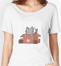 D.Cat Relaxed Fit T-Shirt