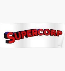 Póster Logo Supercorp