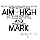 aim high and mark - michelangelo by razvandrc