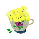 « Le Bouquet de Pissenlits » par Mireille  Marchand