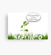 Saplingo Canvas Print