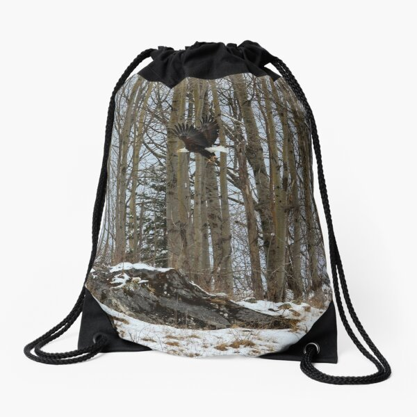 Majestic Monday Drawstring Bag