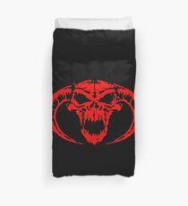 DragonBorn Black & red Duvet Cover