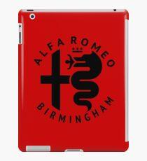 Alfa Romeo of Birmingham Crest iPad Case/Skin