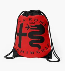 Alfa Romeo of Birmingham Crest Drawstring Bag
