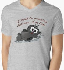 Be.....Fit Men's V-Neck T-Shirt