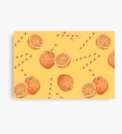 orange juice _light Canvas Print