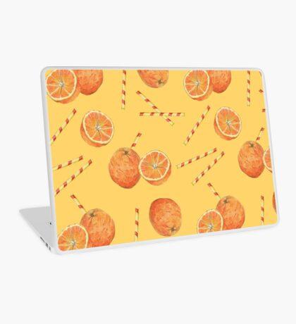 orange juice _light Laptop Skin