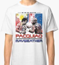 Pacquiao Mayweather shirt Classic T-Shirt