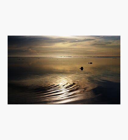 Dawn Ripple Photographic Print