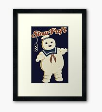 STAY PUFT - MARSHMALLOW MAN GHOSTBUSTERS Framed Print