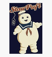 STAY PUFT - MARSHMALLOW MAN GHOSTBUSTERS Photographic Print