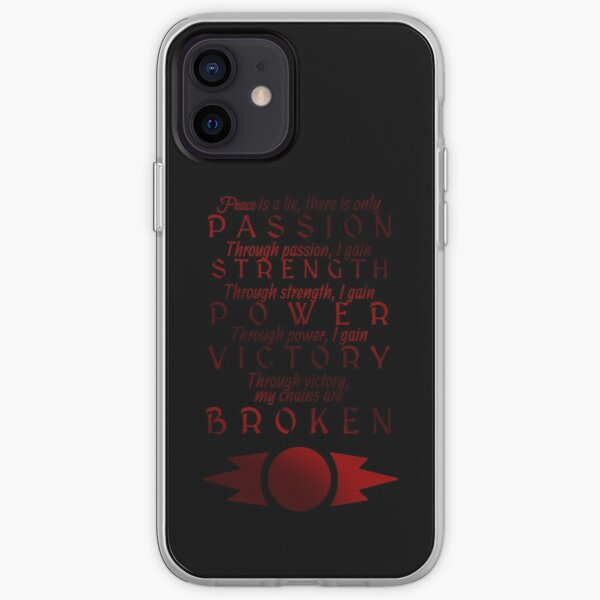 Sith Code iPhone Soft Case