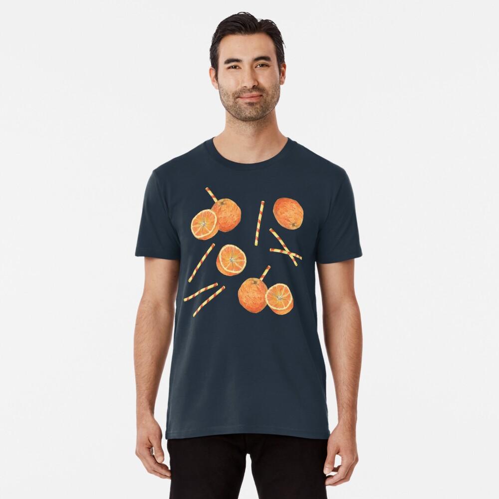 orange juice _blue Premium T-Shirt