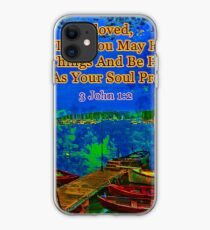 Beloved I pray that you may prosper in all things iPhone Case