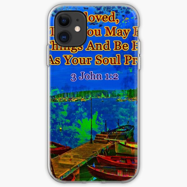 Beloved I pray that you may prosper in all things iPhone Soft Case