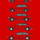 Fast Fords Classic Cars Collection by RJWautographics
