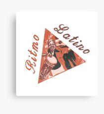 Ritmo Latino Canvas Print