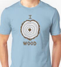 I Heart Wood T-Shirt