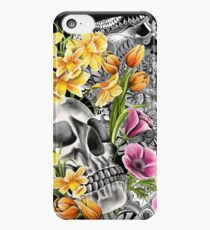 Doodle Skull and flower case iPhone 5c Case