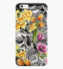Doodle Skull and flower case iPhone 6s Plus Case