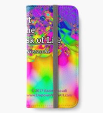Art is the Proper Task of Life iPhone Wallet/Case/Skin