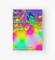 Art is the Proper Task of Life Hardcover Journal
