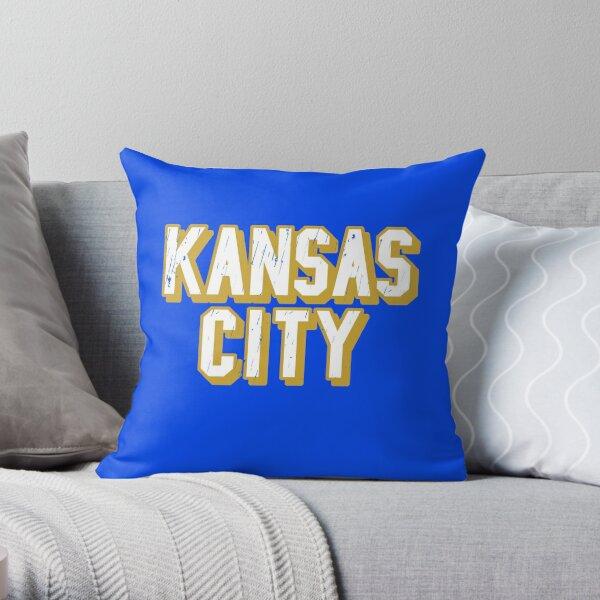 Kansas City Baseball, Kansas City Sports Letters Throw Pillow