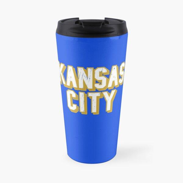 Kansas City Baseball, Kansas City Sports Letters Travel Mug