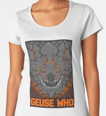 MONSTER HUNTER- Geuse Who Women's Premium T-Shirt