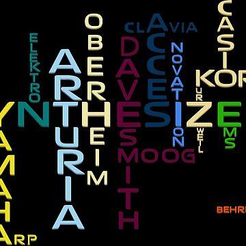 Synthesizer Companies by mewzeek-T