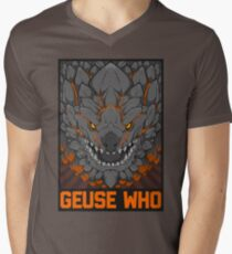 MONSTER HUNTER- Geuse Who Men's V-Neck T-Shirt