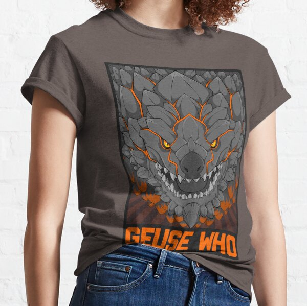 MONSTER HUNTER- Geuse Who Classic T-Shirt