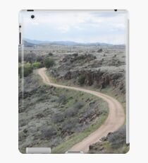 Winding Dirt Road iPad Case/Skin