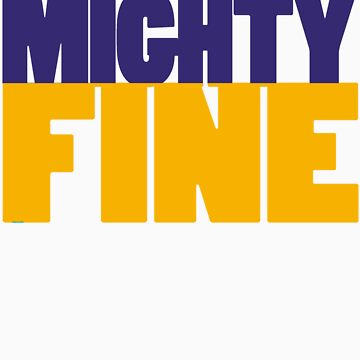 BASIC (Purple/Gold) by MIGHTYFINE