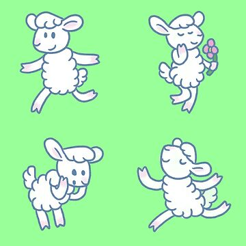 Stickimals - Sheep by NeroStreet