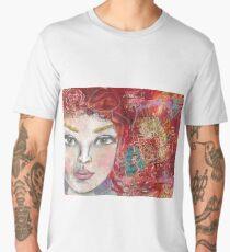 Monoprint Feminine Attitudenal Men's Premium T-Shirt