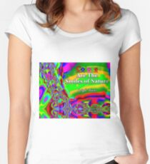 Colors Are The Smiles of Nature Fitted Scoop T-Shirt