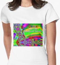 Colors Are The Smiles of Nature Fitted T-Shirt