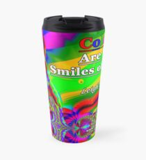 Colors Are The Smiles of Nature Travel Mug