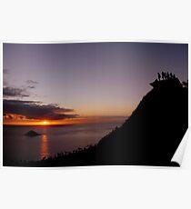Sunrise from Lanikai Pillbox Hike Poster