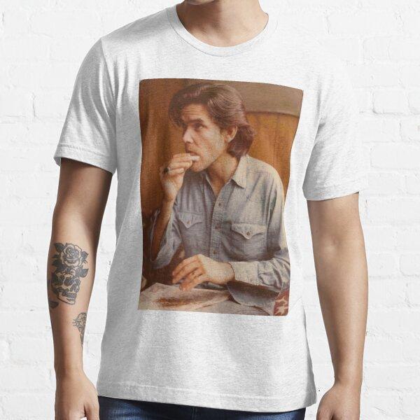 Guy Clark Rolling Cigarette Essential T-Shirt