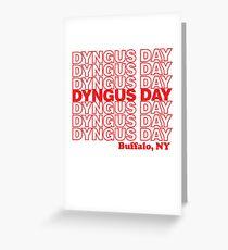 Dyngus Day Buffalo NY Greeting Card